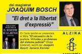 """El dret a la llibertat d´expresió"""" amb el magistrat Joaquim Bosch"""