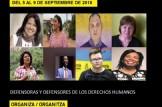 """Exposición """"Valiente"""" sobre defensoras y defensores de derechos humanos"""