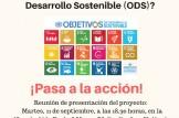 Presentación de campaña de de sensibilización sobre derechos humanos y Objetivos de Desarrollo Sostenible (ODS)