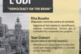 "Xerrada debat: valència contra l´Odi ""Democracy on the brink"""