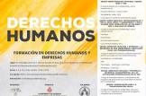 Formación en derechos humanos y empresas