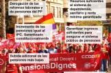 Concentraciones por las pensiones dignas