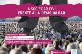 Conferencia: La sociedad civil frente a la desigualdad