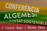 """Conferència """"Algemesi ciutat sostenible"""""""