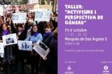 """Taller:  """"Activismo y perspectiva de género"""""""