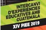 Xerrada informativa en València XIV edició del Programa d'Intercanvis Educatius amb Guatemala (PIEE)