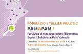 """Formación y taller práctico """"Pam a Pam"""""""