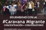"""Concentración y Conversatorio """"Solidaridad con la #CaravanaMigrante"""""""