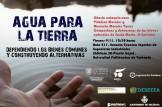 """""""AGUA PARA LA TIERRA. Defendiendo los Bienes Comunes y construyendo Alternativas""""  Charla-coloquio con Vidalina Morales y Manuela Morales Torres"""
