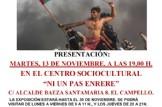 """Presentación de la EXPOSICIÓN: """"Palestina en el corazón"""""""