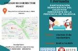 I Jornada participación democrática del colectivo inmigrante de la provincia de Valencia