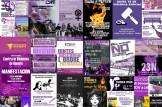 Actes i movilitzacions 25 de Novembre en la Comunitat Valenciana. Día Internacional per a l'eliminació de la violència contra les dones