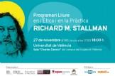 programari lluire en l´Ètica i en la pràctica amb Richard M. Stallman