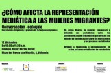 Conversación coloquio: ¿Cómo afecta la representación mediática a las mujeres migrantes?