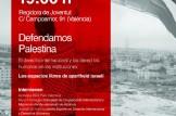Defendamos Palestina: El derecho internacional y los derechos humanos en las instituciones