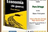 """Presentació del llibre """"Economía (de guerra) de Pere Ortega"""