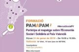 """FORMACIÓ """"PAM A PAM"""", Participa al mapatge sobre l'Economia Social i Solidària al País Valencià"""