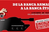 """Presentació Informe especial """"Quant inverteixen en armes els bancs amb què treballa la GVA?"""""""