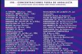 CONCENTRACIÓN EN APOYO A LAS MUJERES DE ANDALUCÍA EN ALICANTE, VALENCIA y CASTELLÓN