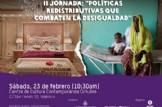 II Jornada de políticas redistributivas que combaten la desigualdad