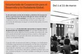 Curso Online: Teoría del cambio: Diseño, planificación y evaluación de intervenciones orientadas al cambio social