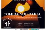 "Comida solidaria: proyecto ""Becas escolares"""
