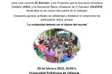 Charla El Salvador. Una Mirada al Pulgarcito de América