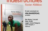 """Presentación del libro """"Indestructibles"""" de Xavier Aldekoa"""