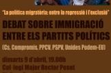 Debate electoral políticas migratorias