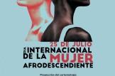 Día internacional de la mujer afrodescediente