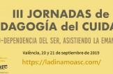 III Jornada de pedagogia del ciudado. La ecodependencia