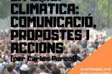 Taller experiencial: La certesa de la crisi climàtica, comuniació, propostes i accions