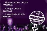 """#2OS Manifestació Nocturna """"La nit serà violeta"""" 20 setembre 2019"""