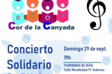 Concierto Solidario del Cor de la Canyada a beneficio de la ONGD ASOL