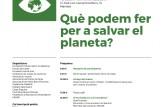Escola de Ciutadania: Què podem fer per a salvar el planeta?