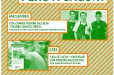"""Encuentro con productoras de cafe y cacao de Comercio Justo de Perú """"Del norte de Perú a Sagunt"""""""
