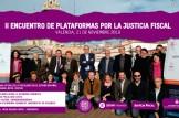 Valéncia acogerá el II Encuentro de Plataformas por una Justicia Fiscal