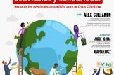"""Charla-Coloquio: """"Emergencia climática, activismos y solidaridad"""""""