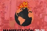 Manifestación 29/11 medidas contra la Emeregencia Climática en Alicante