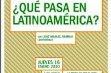 """Xerrada-Coloqui: """"¿Qué pasa en Latinoamérica?"""""""