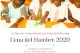 Cena del hambre en favor del Centro Infantil Luis Amigó de Evinayong (Guinea Ecuatorial)