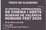 XI Human Fest 2020 - FESTA DE CLAUSURA