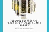 """Exposició fotogràfica """"Les dones en l'agenda 2030 i els ods"""""""