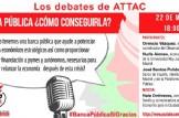 Los debates de Attac: Banca Pública ¿Cómo Conseguirla?