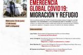 Webinar Emergencia Global Covid19: Migración y Refugio