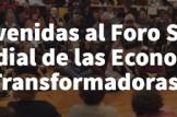 Foro Social Mundial de las Economías Transformadoras (FSMET) Virtual 2020
