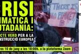 Webinar CRISI CLIMÀTICA I CIUTADANIA: Un pacte verd per a la reconstrucció europea