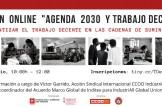 """Sesion ON LINE: """"Agenda 2030 y trabajo decente"""""""