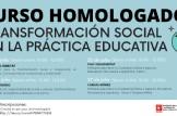 """Curs online """"Educació per a la transformació social en la pràctica educativa"""""""
