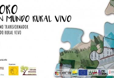 X Foro por un mundo rural vivo. Municipalismo transformador para un mundo rural vivo